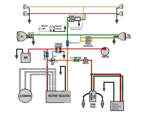 xs650 pamco wiring diagram 26 wiring diagram images
