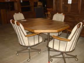 dining table dining table sets rolling chairs
