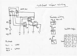 Windscreen Wiper Motor Wiring Diagram