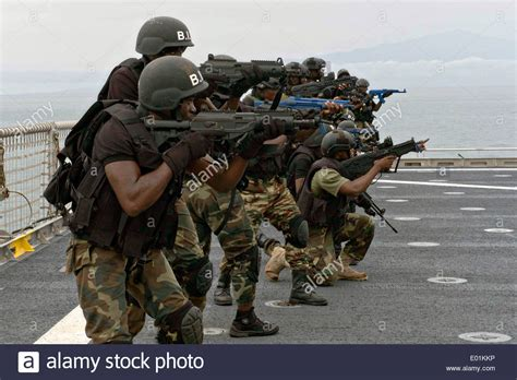 Special Boat Service Us Navy sailors with the special boat service and