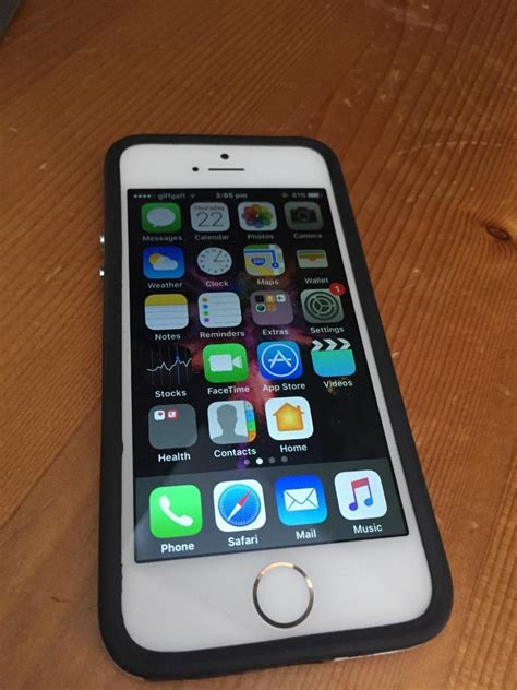 iPhone 5s white and gold 16gb