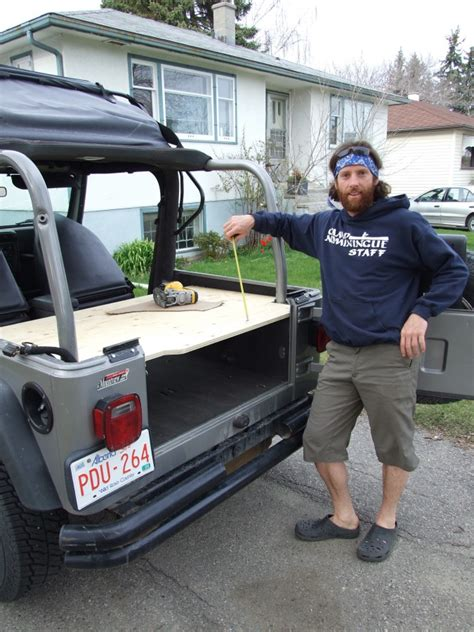 jeep wood box jeep tj storage box the road chose me