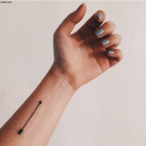 stylish arrow wrist tattoos