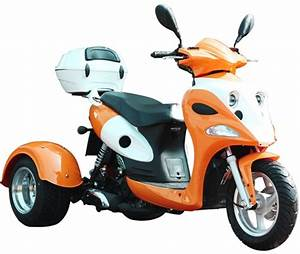 Ice Bear  U0026quot Ace U0026quot  50cc Motor Trike Moped Scooter Pst50
