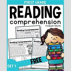 Free First Grade Reading Comprehension Passages  Set 1