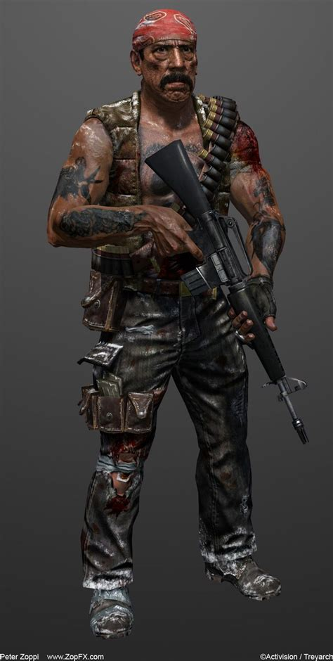 call  duty black ops character character design