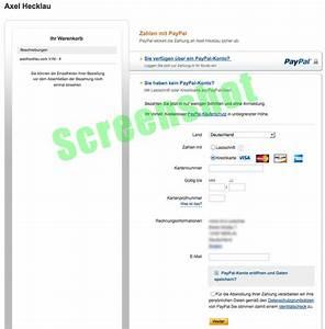 Wie Bezahle Ich Mit Paypal : mit paypal auch ohne kundenkonto bezahlen ~ Watch28wear.com Haus und Dekorationen