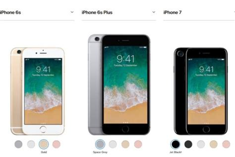 iphone 6s how much photos apple iphone 6s iphone 7 get price cuts