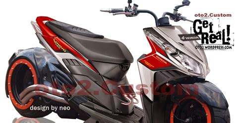Honda Vario 110 Backgrounds by Modifikasi Honda Vario Techno Drag Thecitycyclist