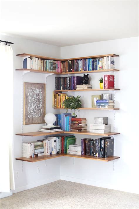 wall mounted shelves ideas  pinterest mounted