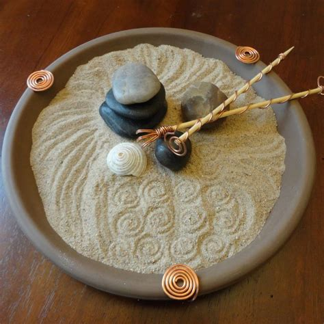 tabletop zen garden pin by wendy bond on center