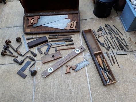 vintage antique carpentry woodwork boxed set  norwich