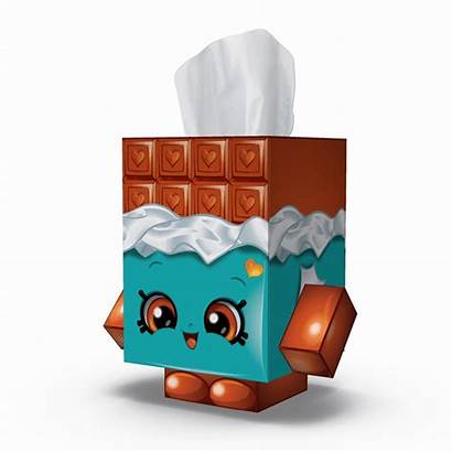 Pack Tissue Shopkins Cube Case