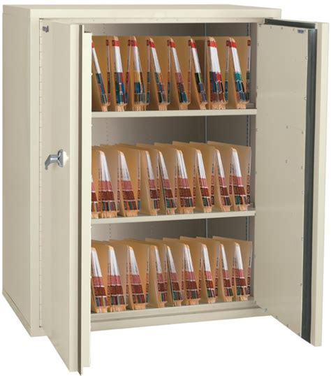 fireking cf4436 md fireproof records storage cabinet for side tab end tab hipaa