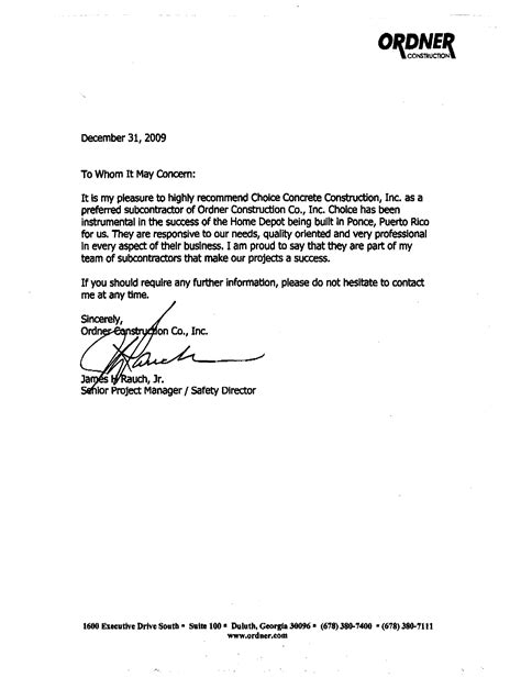 general letter  recommendation template letters