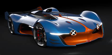 alpine vision gran turismo previews  styling cues