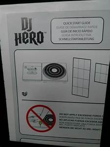 Dj Hero Xbox 360 Instruction Manual Guide Only