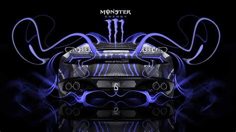 monster energy lamborghini huracan  plastic car