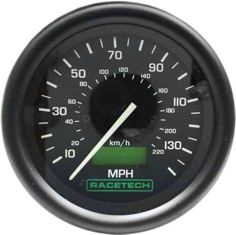 Electric Racetech Speedometer - Raceparts