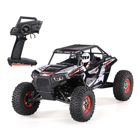 baja buggy rc car wltoys 10428 b2 1 10 2 4g 4wd electric rock crawler off