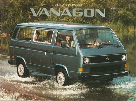volkswagen vanagon curbside classic 1990 volkswagen vanagon westfalia slow