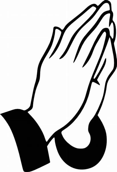 Praying Hands Outline Computer Designs Cliparts Vector