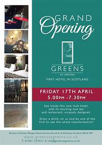 Our Grand Opening Event - Greens at Gretna hotel