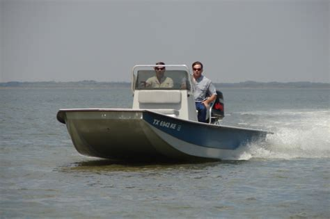 Majek Boats Used by Research 2015 Majek Boats 18ft Redfish On Iboats