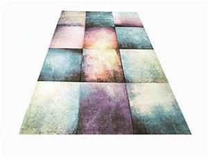 Teppich Bunt Modern : teppich traum designerteppich moderner teppich f r wohnzimmer kurzflor teppich bunt modern in ~ Frokenaadalensverden.com Haus und Dekorationen