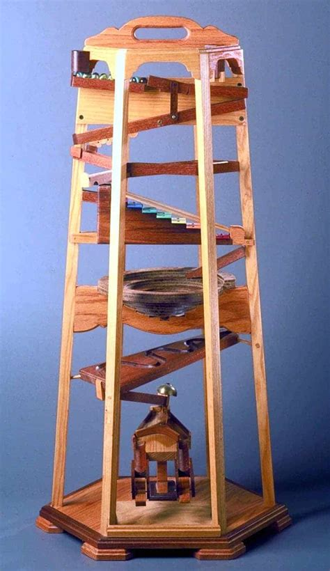 woodworking plan   marble tower  full size