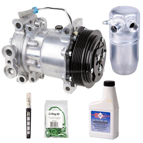 chevrolet ac compressor and components kit parts view