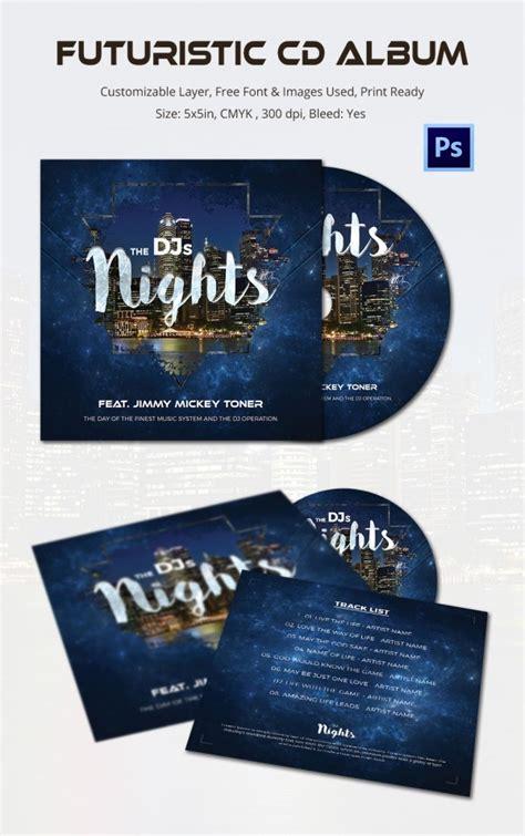 album cover template   psd format