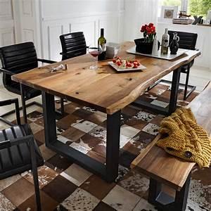 Esstisch Baumkante Ausziehbar : esstisch escoba aus akazie massivholz ~ Watch28wear.com Haus und Dekorationen