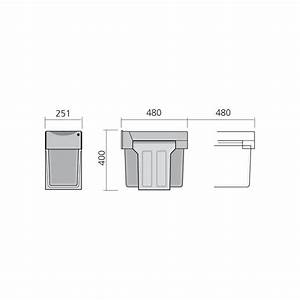 poubelle bacs 30l gris ilovedetailscom With meuble pour entree de maison 15 patere i love details