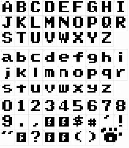 Font Mario Super Text Box Fonts Map