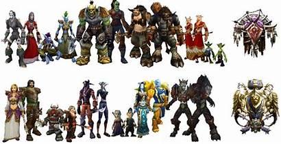 Races Warcraft Playable Horde Race Skyrim Wow