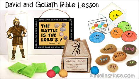 free sunday school lesson for children joseph a 895 | david goliath bible lesson