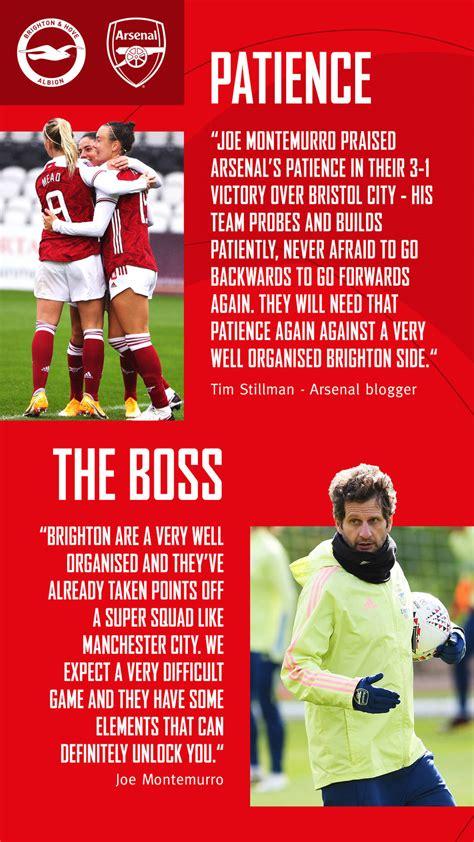 Preview: Brighton v Arsenal Women | Pre-Match Report ...
