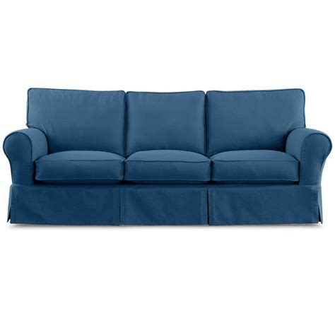 Jc Penney Sofas by Jcpenney Friday Twill 91 Quot Slipcovered Sofa Jcpenney