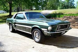 Highland Green 1968 Mustang - Paint Cross Reference