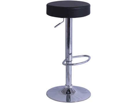 tabouret de bar de cuisine rump coloris noir vente de chaise de cuisine conforama