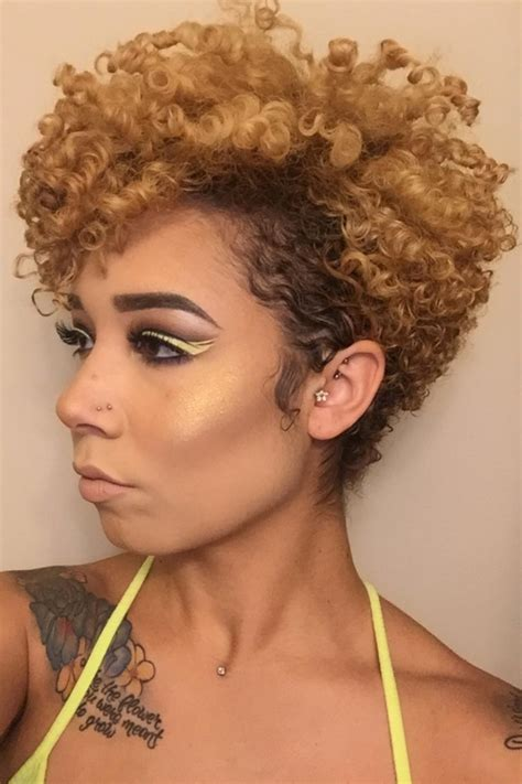 hairstyle ideas for short natural hair in 2019 black