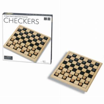 Checkers Wooden