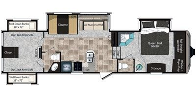 Montana 5th Wheel Floor Plans 2011 by 2011 Keystone Rv Montana High Country Fifth Wheel Series M