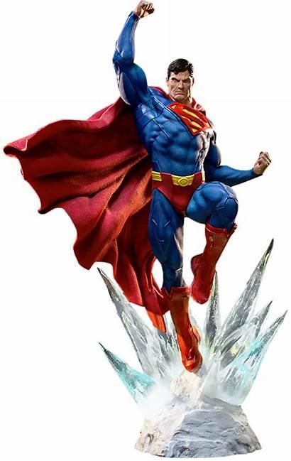 Superman Iron Statue Studios Sideshow Dc Comics