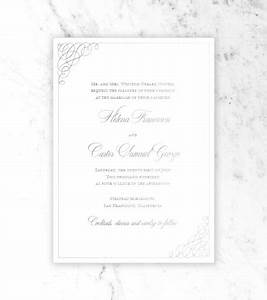 clare foil wedding invitation foiled invitations With handmade wedding invitations by clare