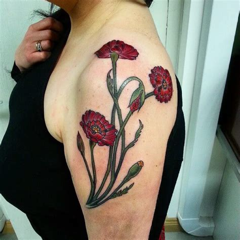 Flower Tattoo Designs On Ankle