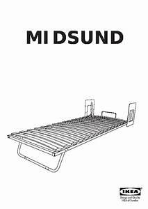 Mécanisme Lit Escamotable : midsund lit escamotable brun noir blanc ikea france ~ Voncanada.com Idées de Décoration