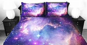Email Reminder These Galaxy Beddings Will Let You Sleep Among The Stars