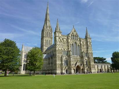 Salisbury Cathedral Gothic English Architecture Early Google